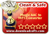 clean & safe: magic aac to mp3 converter
